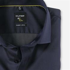 OLYMP overhemd Level 6 251244 in het Blauw