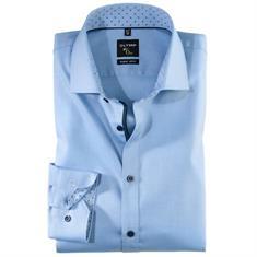 OLYMP overhemd Level 6 252644 in het Blauw