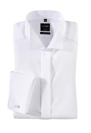 OLYMP overhemd Modern Fit 039570 in het Wit