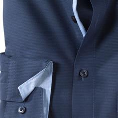 OLYMP overhemd Modern Fit 057764 in het Marine