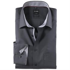 OLYMP overhemd Modern Fit 057764 in het Zwart