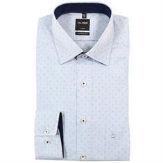 OLYMP overhemd Modern Fit 070564 in het Blauw