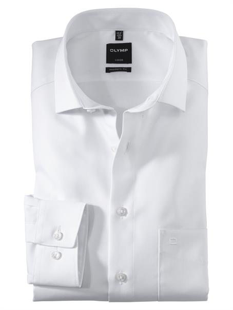 OLYMP overhemd Modern Fit 074564 in het Wit