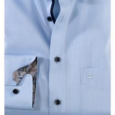 OLYMP overhemd Modern Fit 120034 in het Blauw