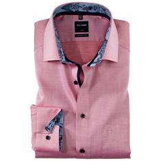 OLYMP overhemd Modern Fit 120034 in het Rood