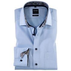 OLYMP overhemd Modern Fit 120039 in het Blauw