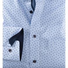 OLYMP overhemd Modern Fit 120124 in het Blauw