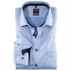 OLYMP overhemd Modern Fit 120144 in het Blauw
