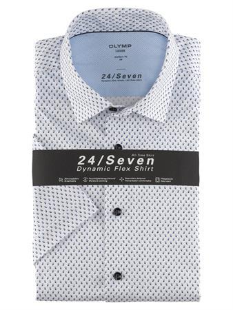 OLYMP overhemd Modern Fit 120372 in het Blauw