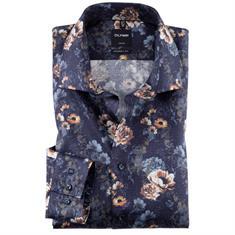 OLYMP overhemd Modern Fit 120544 in het Bruin