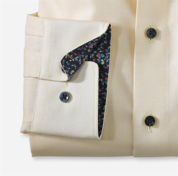 OLYMP overhemd Modern Fit 120554 in het Geel