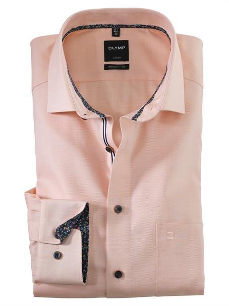 OLYMP overhemd Modern Fit 120554 in het Oranje