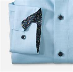 OLYMP overhemd Modern Fit 120554 in het Parelmoer Blauw