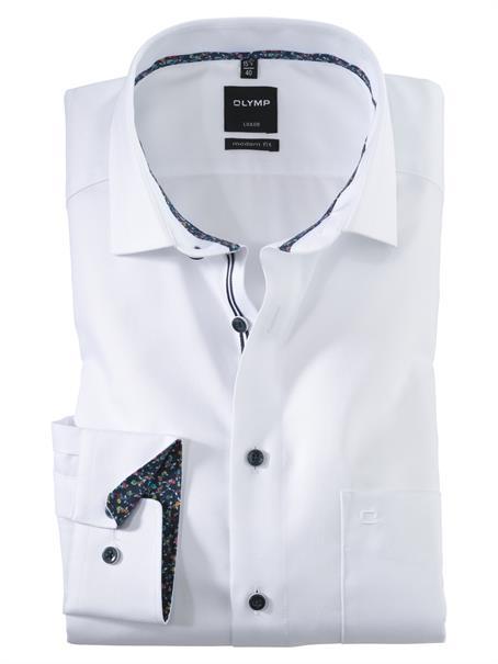 OLYMP overhemd Modern Fit 120554 in het Wit
