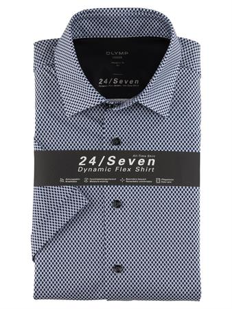 OLYMP overhemd Modern Fit 120572 in het Blauw