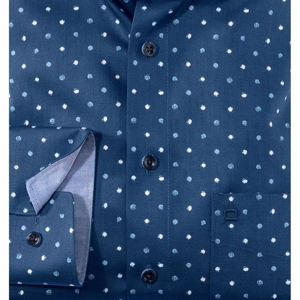 OLYMP overhemd Modern Fit 120734 in het Marine