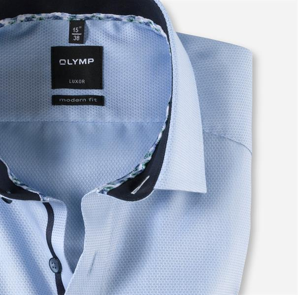 OLYMP overhemd Modern Fit 120854 in het Blauw