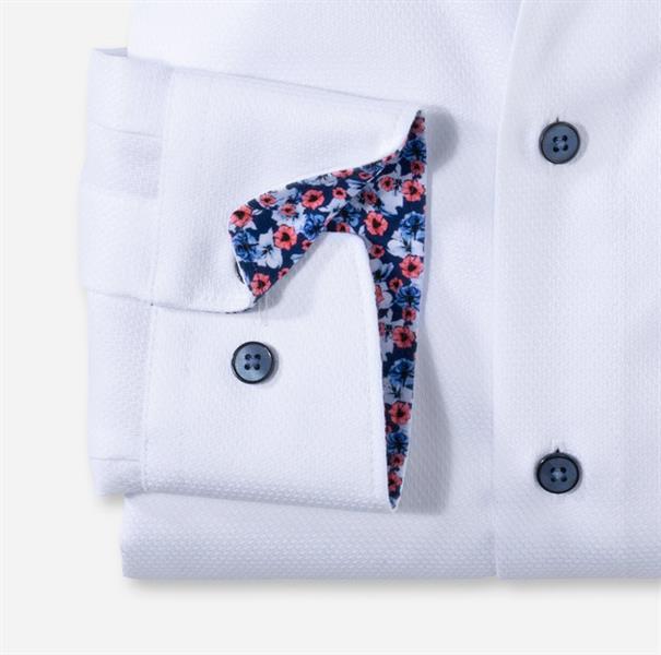 OLYMP overhemd Modern Fit 120854 in het Wit