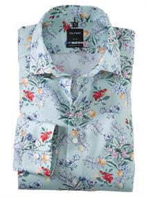 OLYMP overhemd Modern Fit 121754 in het Groen