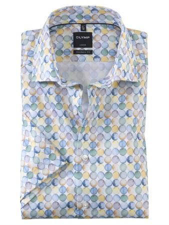 OLYMP overhemd Modern Fit 121972 in het Geel