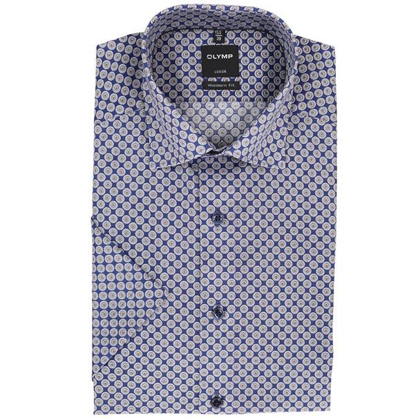 OLYMP overhemd Modern Fit 122032 in het Bruin