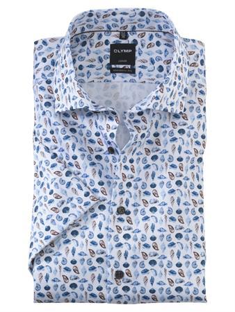 OLYMP overhemd Modern Fit 122772 in het Bruin