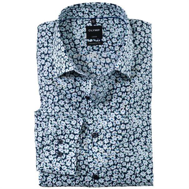 OLYMP overhemd Modern Fit 122932 in het Groen