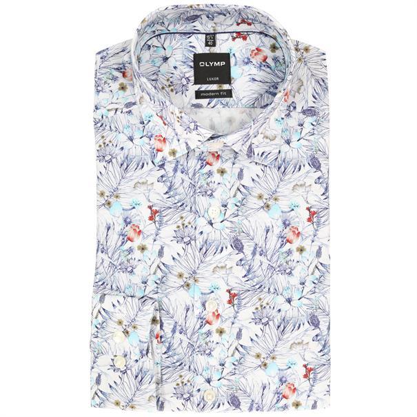 OLYMP overhemd Modern Fit 123034 in het Mint Groen