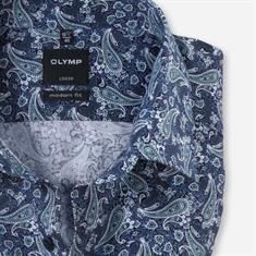OLYMP overhemd Modern Fit 123044 in het Groen