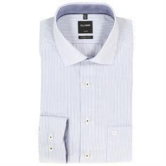 OLYMP overhemd Modern Fit 123234 in het Kobalt