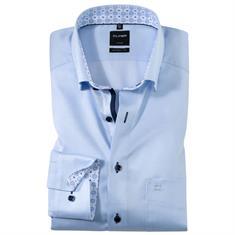 OLYMP overhemd Modern Fit 123534 in het Blauw