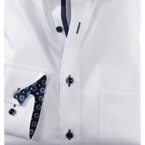 OLYMP overhemd Modern Fit 123534 in het Wit