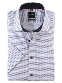 OLYMP overhemd Modern Fit 123952 in het Rood