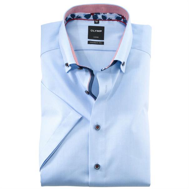 OLYMP overhemd Modern Fit 124332 in het Blauw
