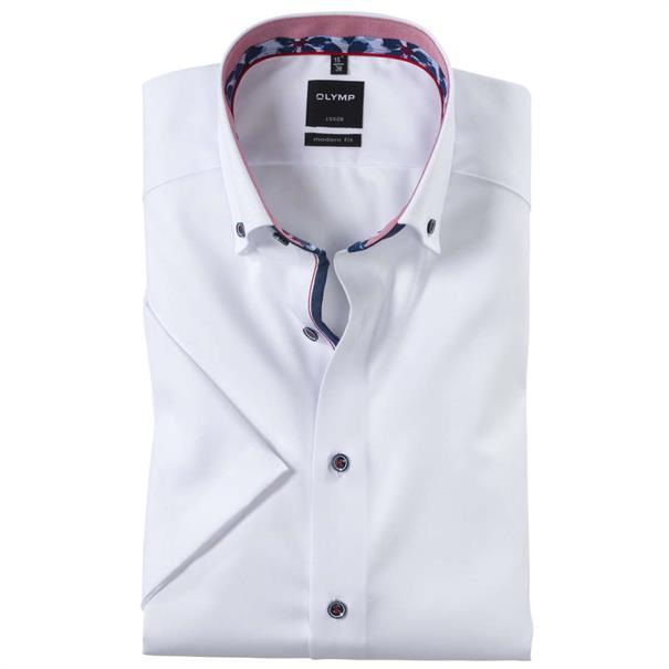 OLYMP overhemd Modern Fit 124332 in het Wit