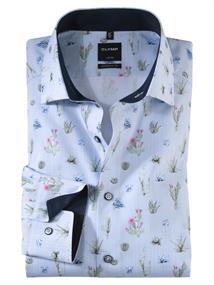 OLYMP overhemd Modern Fit 124954 in het Groen