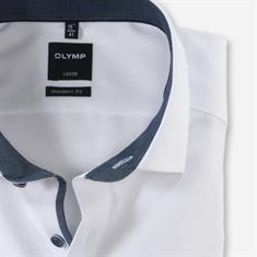 OLYMP overhemd Modern Fit 125044 in het Wit