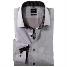 OLYMP overhemd Modern Fit 125224 in het Bruin