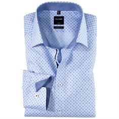 OLYMP overhemd Modern Fit 125239 in het Bruin