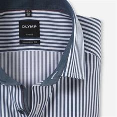 OLYMP overhemd Modern Fit 125244 in het Marine