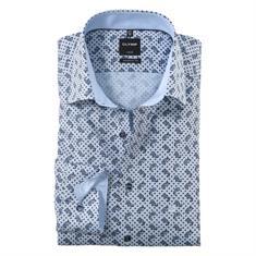 OLYMP overhemd Modern Fit 125644 in het Bruin