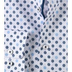 Olymp overhemd Modern Fit 125714 in het Licht Blauw