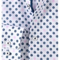 Olymp overhemd Modern Fit 125714 in het Roze
