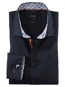 OLYMP overhemd Modern Fit 125954 in het Kobalt