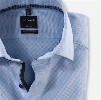 OLYMP overhemd Modern Fit 126272 in het Blauw