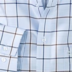 OLYMP overhemd Modern Fit 126424 in het Bruin