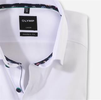OLYMP overhemd Modern Fit 126872 in het Wit