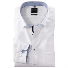 Olymp overhemd Modern Fit 127414 in het Licht Blauw