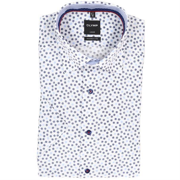 OLYMP overhemd Modern Fit 128432 in het Blauw
