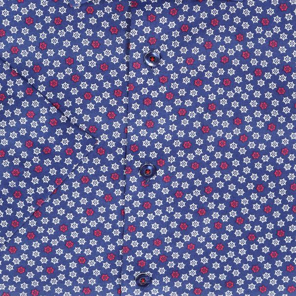 OLYMP overhemd Modern Fit 128432 in het Rood
